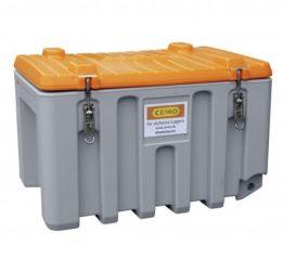 Szerszámtároló láda 150 L PE Szürke /Narancssárga színben
