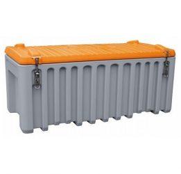 Szerszámtároló láda 250L PE Szürke / Narancssárga
