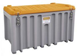 Szerszámtároló láda 400 L PE Szürke / Narancssárga színben