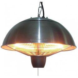 Mennyezetre függeszthető halogén lámpás teraszfűtő - alumínium burkolattal